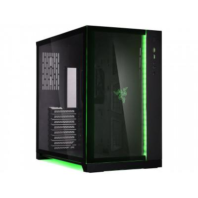 صندوق كمبيوتر للألعاب من ليان لي نسخة ريزر | O11DXRZ أسود