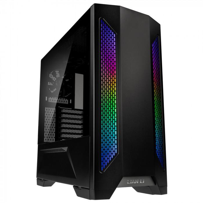 صندوق الكمبيوتر Lian Li Lancool 2 Tempered Glass ATX Case من ليان لي - أسود