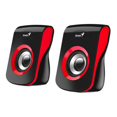 مكبر صوت SP-Q180 USB احمر