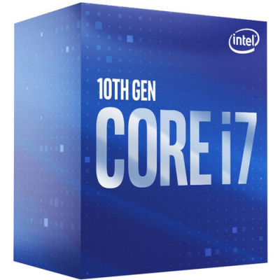 Intel® Core™ i7-10700 2.9 GHz Eight-Core LGA 1200 معالج