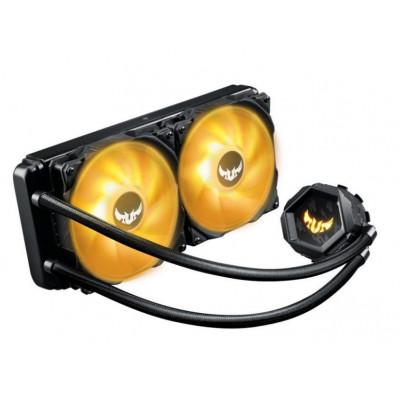 مبرد وحدة المعالجة المركزية السائل TUF GAMING LC RGB 240MM  من اسوس - اسود