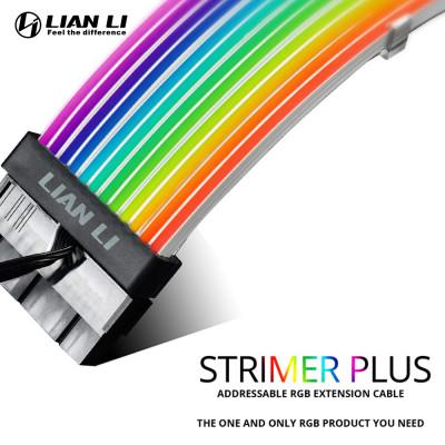 كابل التمديد  PW24-V2 ADDRESSABLE RGB STRIMER Plus 24-PIN من ليا لي - عريض