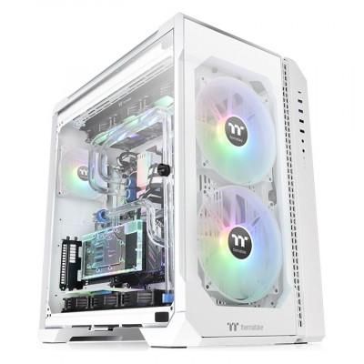 صندوق الكمبيوتر Thermaltake View 51 Tempered Glass Snow ARGB الإصدار الخاص