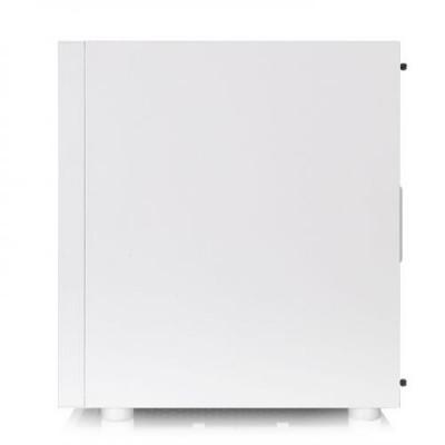 صندوق الكمبيوتر Thermaltake H200 Tempered Glass Snow Edition RGB Light Strip ATX Mid Tower