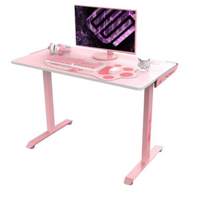 """طاولة كمبيوتر الألعاب Eureka Gaming Venus I1S 44"""" Pink Gaming Computer Desk"""