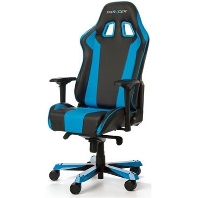 كرسي ألعاب DXRACER King series Gaming Chair- Black Blue من دي اكس ريسر