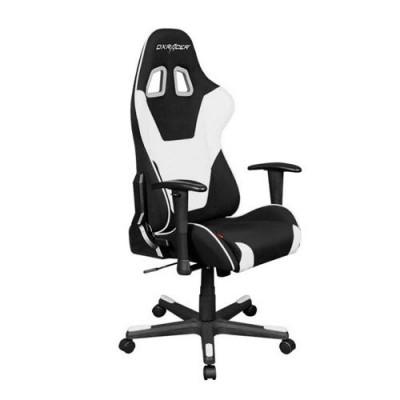 كرسي ألعاب الكمبيوتر DXRacer Formula - أسود / أبيض