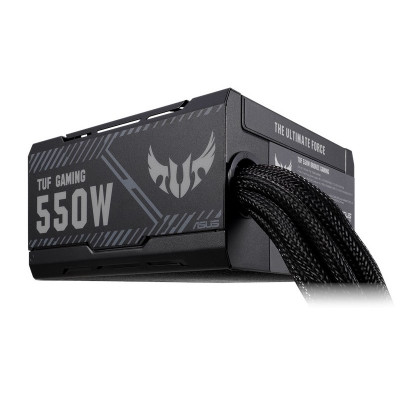 مزود الطاقة ASUS TUF Gaming 550W Bronze من آسوس