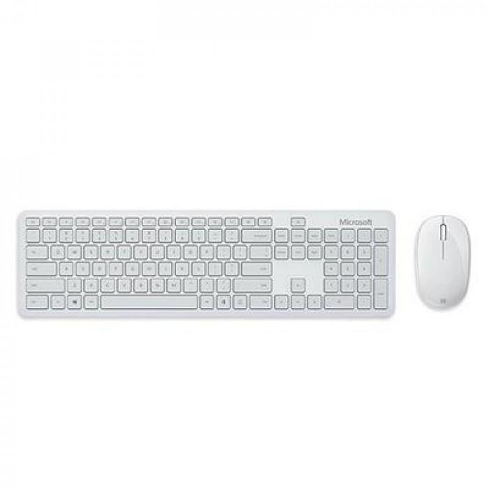 مايكروسوفت لوحة مفاتيح و ماوس بلوتوث - رصاصي