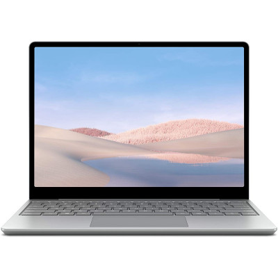 "Microsoft Surface Laptop Go 12.4"" Touchscreen - Intel Core i5 - 8GB Memory - 256GB SSD - Platinum"