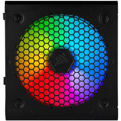 مزود الطاقة من كورسير CORSAIR CX-550F RGB - 550 Watt 80 Plus Bronze