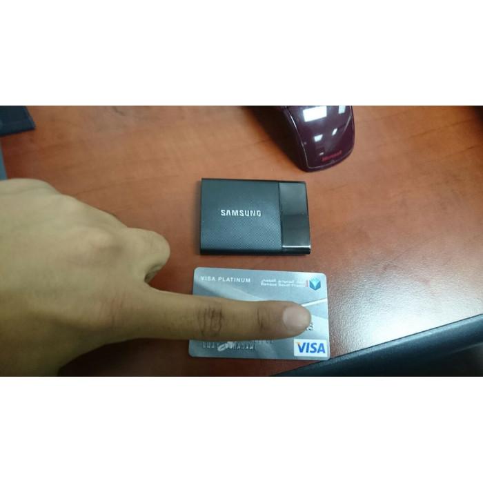 هاردسك خارجي متناهي الصغر 1TB USB 3.0 من Samsung