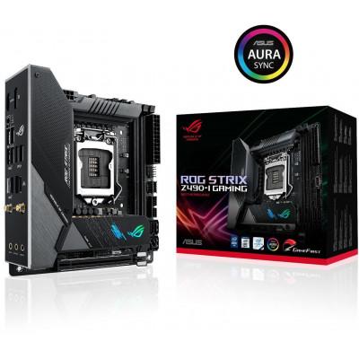 اللوحة الأم ASUS ROG STRIX Z490-I GAMING WIFI