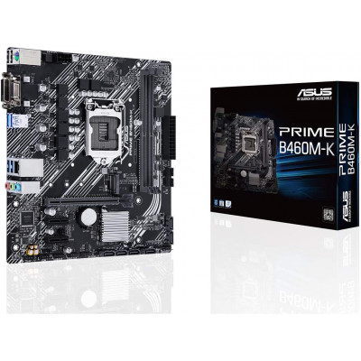 اللوحة الأم من اسوس PRIME B460M-K LGA 1200 ، Micro-ATX