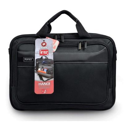 حقيبة كمبيوتر محمول سوداء من بورت ديزاينزHanoi Clamshell 13.3 بوصة