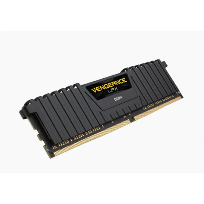Corsair VENGEANCE® LPX 32GB (2 x 16GB) DDR4 DRAM 2666MHz C16 ذاكرة عشوائية - اسود  كورسير