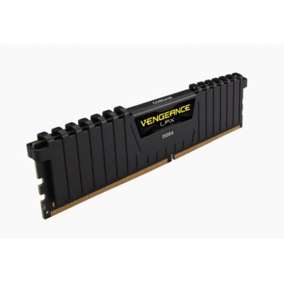 VENGEANCE® LPX 32GB (2 x 16GB) DDR4 DRAM 3000MHz C16  - ذاكرة عشوائية - اسود كورسير