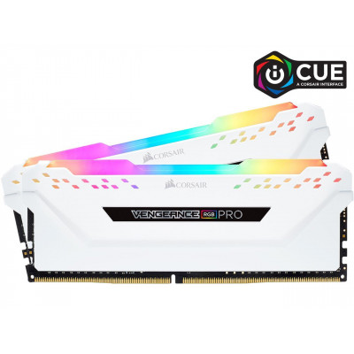 ذاكرة سطح المكتب من كورسير Vengeance RGB Pro 32GB (2 x 16GB) 288-Pin DDR4 SDRAM DDR4 3200 Intel XMP 2.0