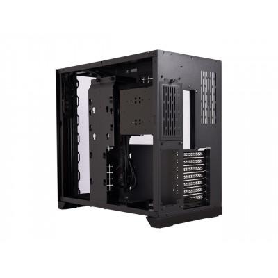 Lian Li   | كيس كمبيوتر الألعاب | زجاج مقوى أسود ديناميكي | O11DynamicBlack