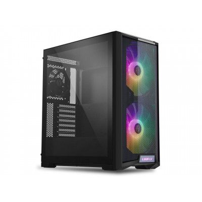 Lian Li   كيس للالعاب اسود  LANCOOL 215 RGB ATX