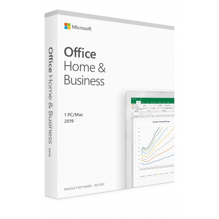 Microsoft Office Home & Business  2019 انجليزي ،مستخدم واحد ،متوافق مع ويندوز 10