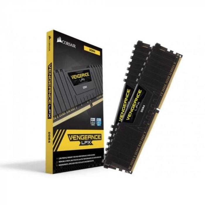 VENGEANCE®LPX32GB (2 x 16GB) DDR4 DRAM 3000MHz C15 Memory Kit -black