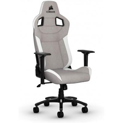 كورسير   كرسي الألعاب T3 RUSH رمادي / أبيض   CF-9010030-WW