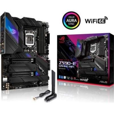 اسوس | اللوحة الام ROG Strix Z590-E, 128 GB DDR4 | 90MB1640-M0EAY0