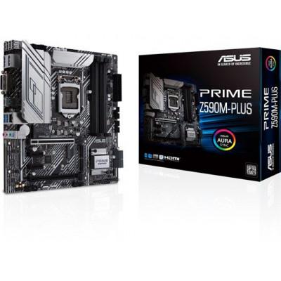 ASUS | اللوحه الالم  Prime Z590M-Plus Intel | 90MB1690-M0EAY0