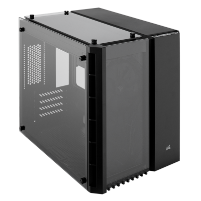 Crystal Series 280X Tempered Glass Micro ATX Case from CORSAIR — Black
