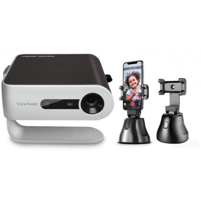 Home Theater 2 |  M1+ Ultra-Portable LED Projector + Free Apai Genie Robot-Cameraman