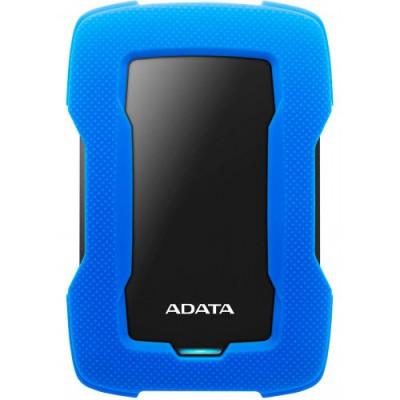 قرص صلب HD330 1TB USB3.1 من اداتا ازرق