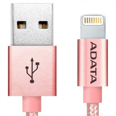 ADATA Apple Sync & Charge Lightning cable Rose Gold 1 Meter