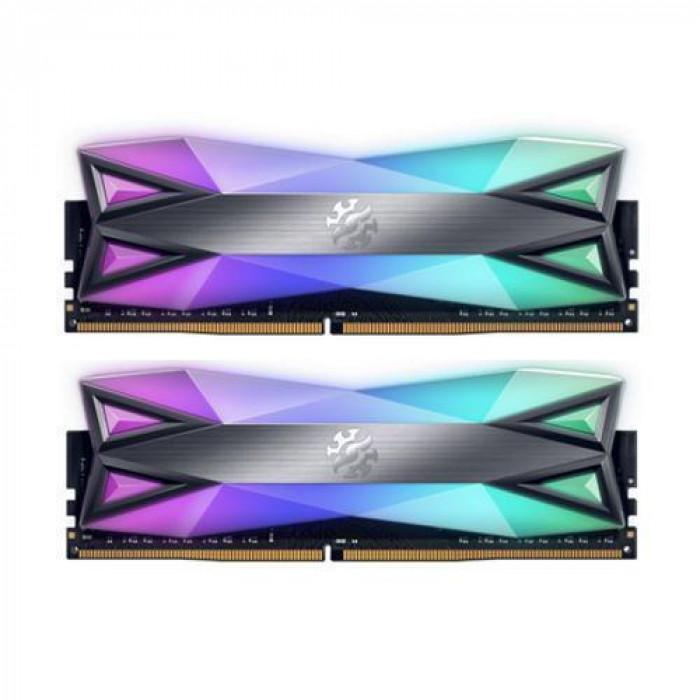اداتا | بطاقة الذاكرة | SPECTRIX D60G 3200 2X16GB GREY | AX4U3200716G16A-DT60
