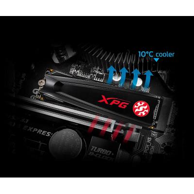 XPG   بطاقة ذاكرة   GAMMIX S5 PCIe3 2TB   AGAMMIXS5-2TT-C