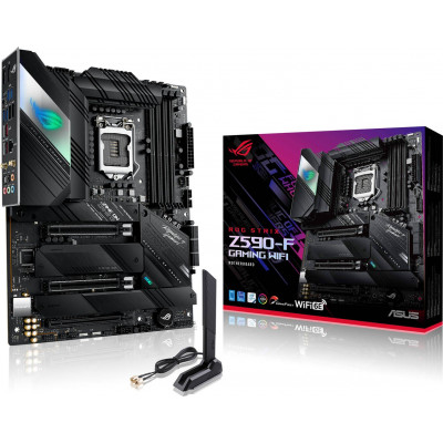 اسوس | اللوحة الام | ROG Strix Z590-F Gaming WiFi | 90MB1630-M0EAY0