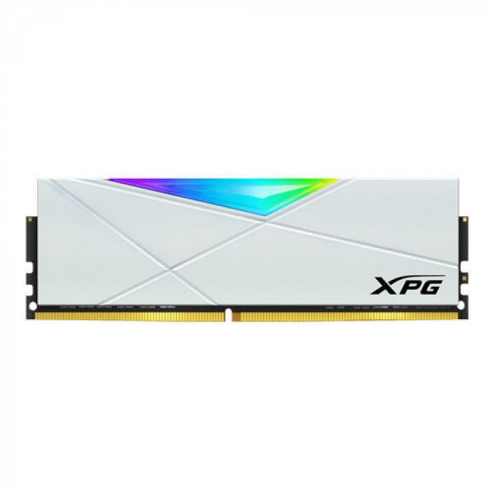 XPG | ذاكرة سطح المكتب | Spectrix D50G 32 جيجا بايت (16 جيجا × 2) DDR4 3600 ميجا هرتز - أبيض | AX4U3600316G18A-DW50