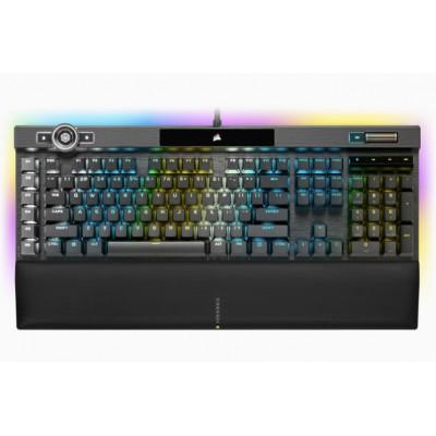 كورسير | لوحة مفاتيح للألعاب | لوحة مفاتيح الألعاب الميكانيكية K100 RGB - أسود | CH-912A014-NA
