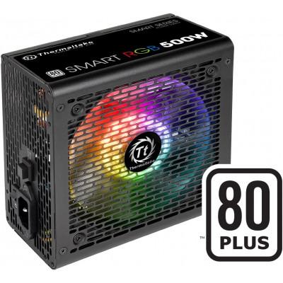 Thermaltake   مزود الطاقة   RGB ذكي 80+ 500 واط