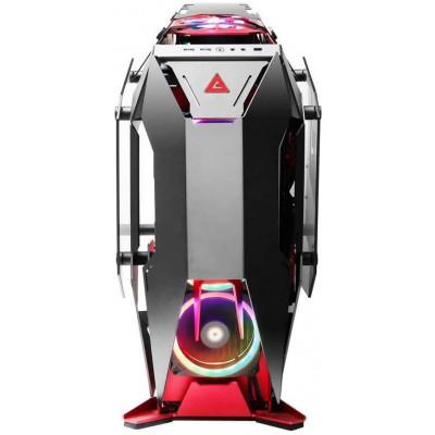 انتيك | صندوق كمبيوتر| Torque Black/Red Aluminum ATX Mid Tower