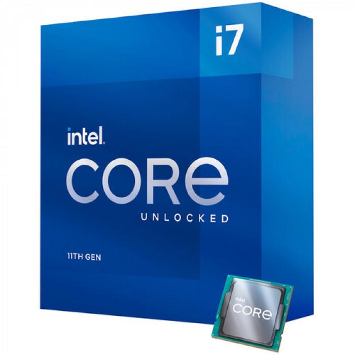 انتل كور |معالج سطح المكتب |  ii7-11700K Rocket Lake 8-Core 3.6 GHz LGA 1200 125W  | BX8070811700K