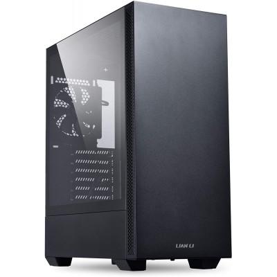 ليان لي| غلاف زجاجي | Mid-Tower Chassis ATX Computer Case PC - Black | LANCOOL-205
