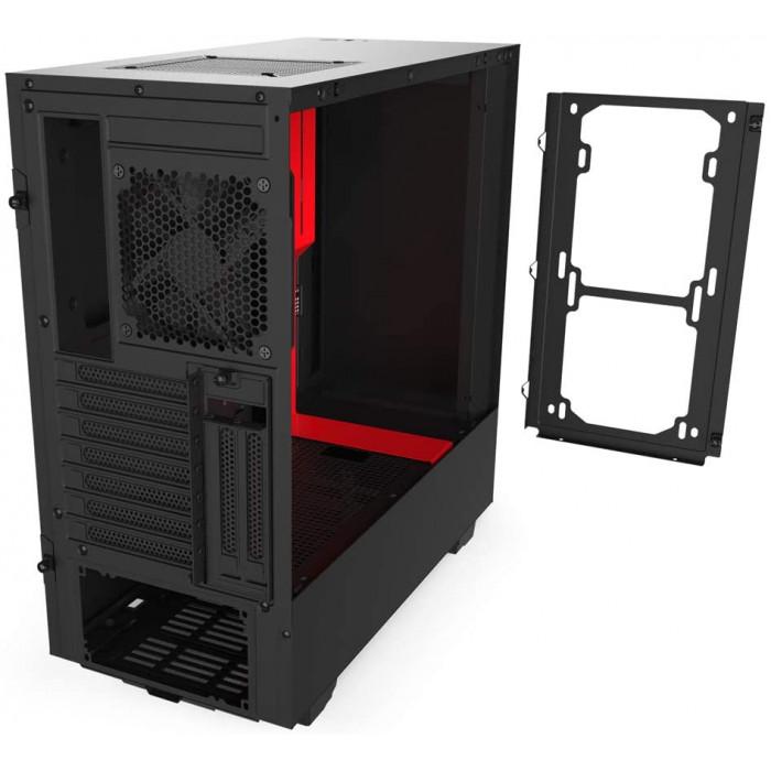 CA-H510I-BR   كيس  H510i Matt  Black Red  من ان زد اكس تي