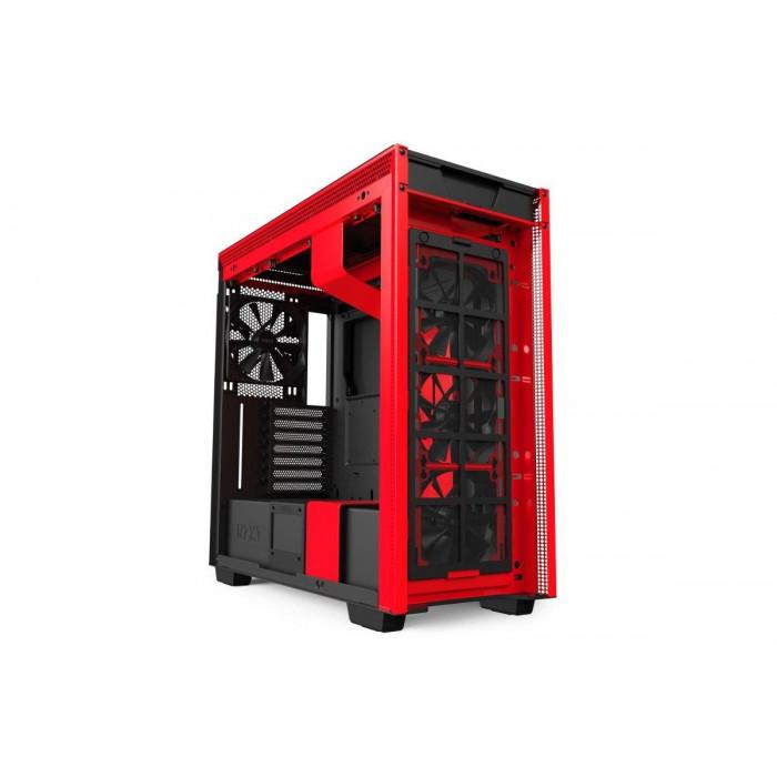 CA-H710B-BR   كيس   H710  Black ATX   من ان زد اكس تي