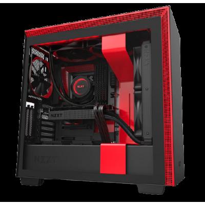 CA-H710I-BR  | كيس | H710i Black and Red ATX |  من ان زد اكي تي