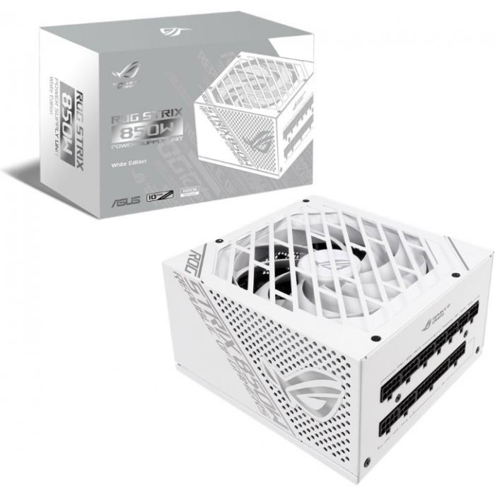ASUS   ROG Strix 850W White PSU + ROG STRIX LC RGB 360MM CPU LIQUID COOLER - WHITE   90YE00A4-B0NA00 + 90RC0072-M0UAY0