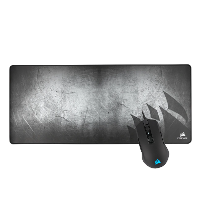 CORSAIR | M55 RGB PRO Multi-Grip Mouse + MM350 Premium Anti-Fray Cloth Gaming Mouse Pad Extended XL | CH-9308011-NA + CH-9413571-WW