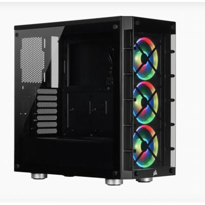 Corsair | صندوق الكمبيوتر |  iCUE 465X RGB Mid Tower ATX Black | CC-9011188-WW