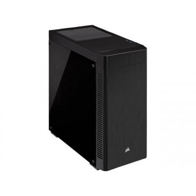 كورسير     صندوق الكمبيوتر      110R Tempered Glass Mid Tower ATX Black    CC-9011183-WW