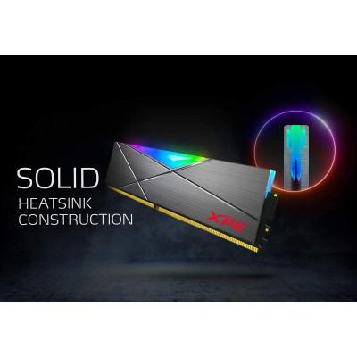 اداتا    ذاكرة    XPG DDR4 D50 RGB 16GB (2x8GB) 3200MHz PC4-25600 U-DIMM 288-Pins   AX4U32008G16A-DT50